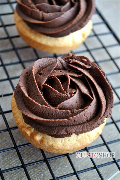 tartelettes au chocolat sur sable breton
