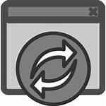 Browser Clip Rebuild Reload Svg Clker Clipart