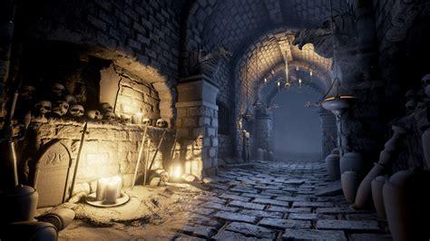 building dark souls style dungeon  ue