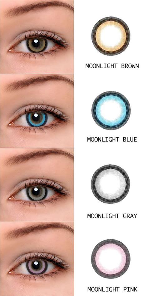 target colored contacts best 25 brown contact lenses ideas on fashion