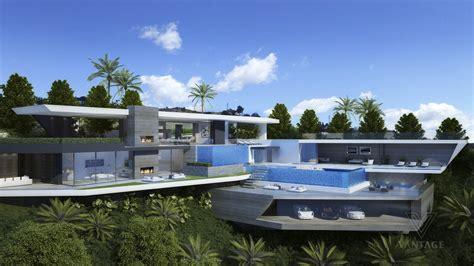 luxury concrete home interior design ideas