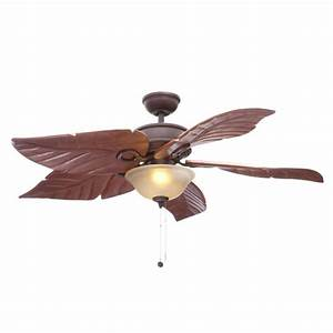 Awesome tropical ceiling fan with light additional