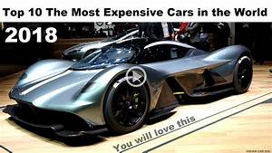 Top 10 Most Expensive Cars In The World 2017 - Best Image ...