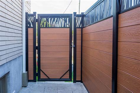 horizontal fence composite fence posts  boards  prices ezfence