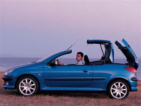 auto peugeot peugeot 206 cc specs 2001 2002 2003 2004 2005 2006