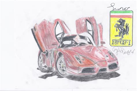 How To Draw A Enzo by Enzo Drawing Updated By Amezy2000 On Deviantart