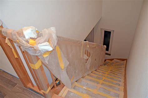 lugato fließt und fertig treppenhaus fertig und dachbodentreppe heim am