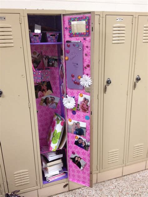 locker decorations at walmart decorate your locker just cut the wrapping paper to fit