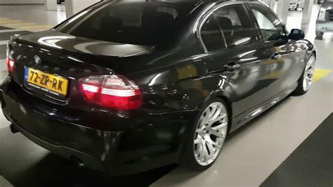 bmw   black sedan  rims youtube