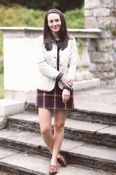 Plaid Preppy Skirts Skirt Outfits Classic Wool