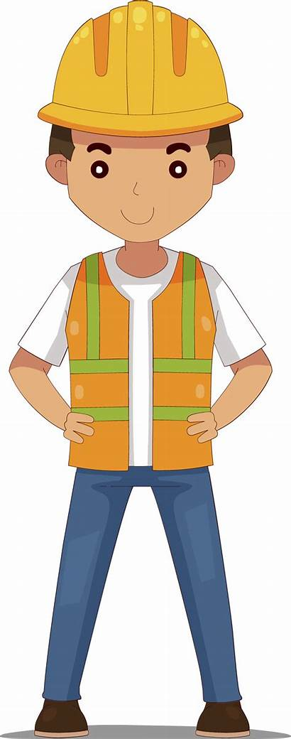 Engineer Clipart Drawing Civil Engineering Cartoon Maintenance