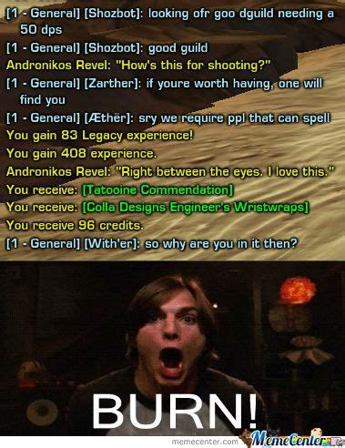 Swtor Memes - swtor chat by william ramey 549 meme center