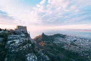 Table Mountain Cape Town Aerial