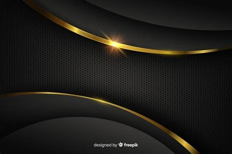 Abstract Black And Gold Background Png by Gold Vectors Photos And Psd Files Free