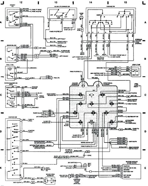 wiring diagram for 2001 jeep wrangler universal wiring