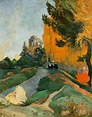 Les Alyscamps - Paul Gauguin - WikiArt.org - encyclopedia ...
