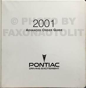 2001 Cavalier  U0026 Sunfire Wiring Diagram Original