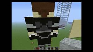 Minecraft Tutorial: Skydoesminecraft Statue - YouTube