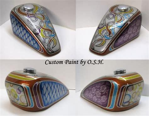 Custom Motorcycle Gas Tank Paint Jobs