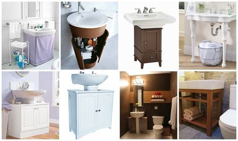 Best Images About Pedestal Sink Storage Solutions On