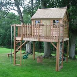 tree house from the childrens cottage company children 39 s playhouses housetohome co uk