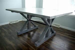 DIY A Farmhouse Table - Modernizing the Traditional