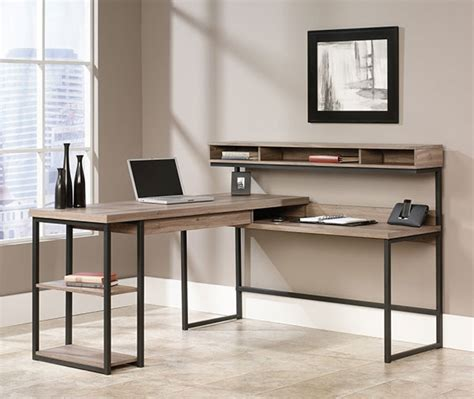 sauder salt oak writing desk 10 best corner computer desk table for graphic designers
