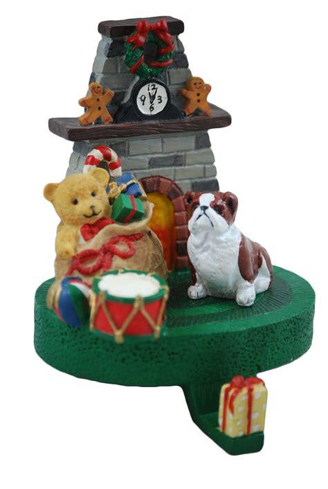 bulldog mantle hanger holder figurine dogloverstore