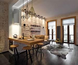 Aménagement Petit Appartement : comment agrandir l 39 espace dans un petit appartement ~ Nature-et-papiers.com Idées de Décoration