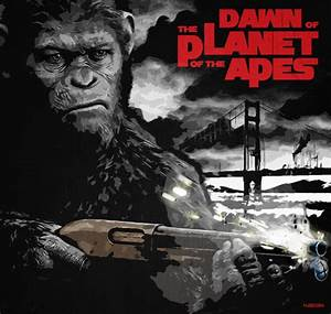 Dawn of the Planet of the Apes Poster by mjd360 on DeviantArt