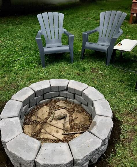 cost to build pit diy fire pit in under two hours 1915 house