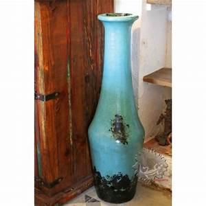 Jarre Terre Cuite Grande Taille : grandes jarres pur es modernes bleue turquoise d coration ~ Dailycaller-alerts.com Idées de Décoration