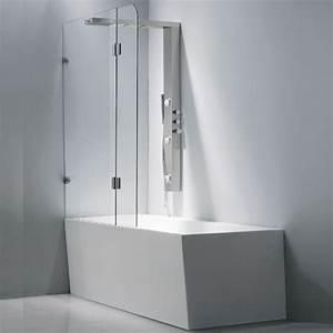 Transformer Baignoire En Douche : r nover la salle de bain le choix de la douche mon coin ~ Dallasstarsshop.com Idées de Décoration