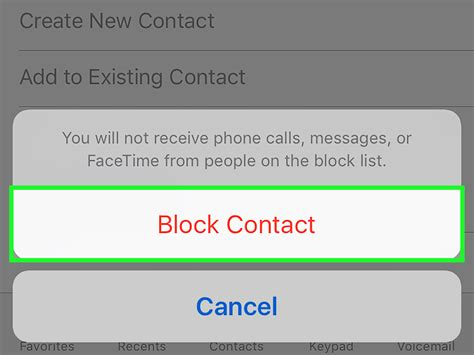how to block a contact iphone 2 simple ways to block a number on the iphone wikihow