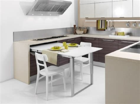kitchen island pull out table space saving kitchen island with pull out table homesfeed 8210