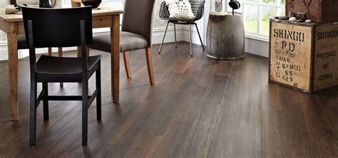 luxury vinyl plank in kitchen   Ferma Flooring
