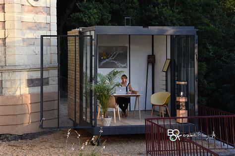 bureau jardin un cube dans mon jardin dans metronews