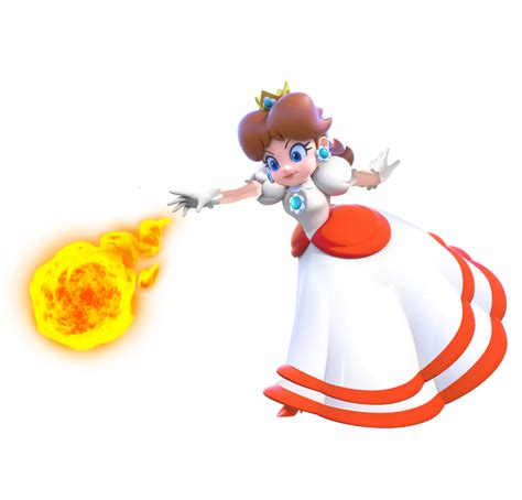 Super Mario 3d World Peach Fire Flower