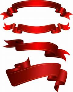 14 Official PSD Banner Images - Red Ribbon Banner, Free ...