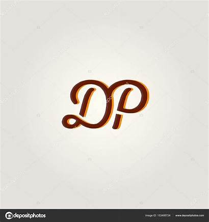 Dp Letters Joint Illustration Vector Depositphotos