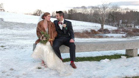 Winter Wedding Video At The Barn At Gibbet Hill