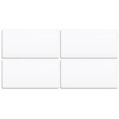 faux kitchen backsplash smart tiles 3 in x 6 in white peel and stick tiles 4 7185
