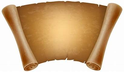 Scroll Papyrus Clipart Transparent Background Clip Paper