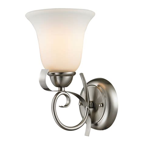 shop westmore lighting colchester 6 in w 1 light brushed