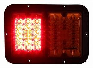 Bargman Led  Surface Mount  Double Tail Light