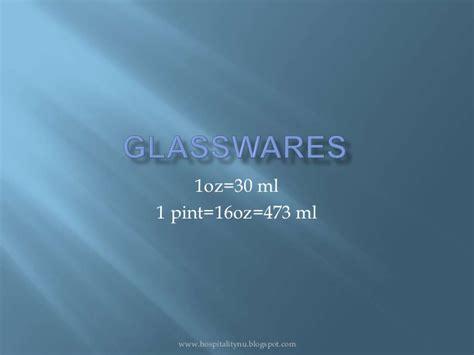 glasswares slideshare
