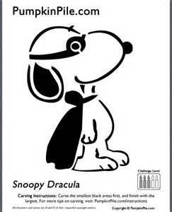 Snoopy Dracula Pumpkin Stencil by Snoopy Pumpkin Stencil Halloween Goodness Pinterest