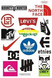 Autocollant De Marque : pas cher tendance monoboard doodle marque sport planche roulettes logo autocollants stickers ~ Gottalentnigeria.com Avis de Voitures