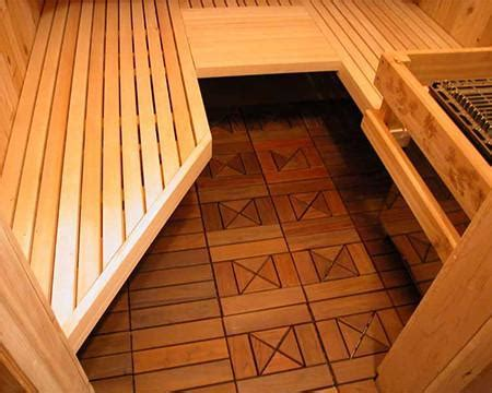 Ipe Wood Sauna Floor Tile ? Superior Saunas
