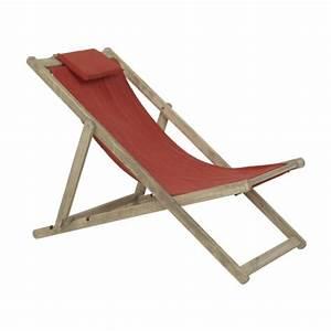 Chaise Jardin Bois : chaise longue de jardin ~ Teatrodelosmanantiales.com Idées de Décoration